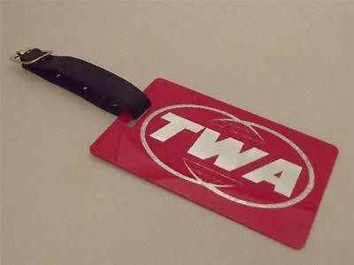 Novelty Luggage Crew Tags - TWA -  Inflightgoods