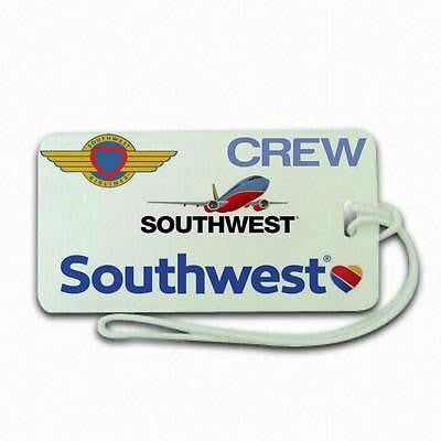Novalty Sothwest airline  Luggage tag  Crew .airports .airline crew upper  class -  Inflightgoods