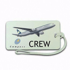 Novelty Compass Crew  Luggage tag  Crew .airports .airline crew 1 -  Inflightgoods