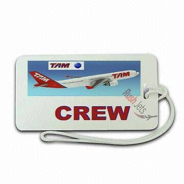 Novelty TAM AIRLINE LUGGAGE CREW TAG -  Inflightgoods