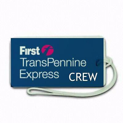Novelty   transpennine express  Luggage tag  Crew .airports .airline crew 1 -  Inflightgoods