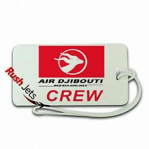 Novelty  Air Djibouti  Crew Luggage  Tag -  Inflightgoods