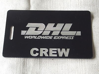 Novelty Luggage Crew Tags - DHL CREW -  Inflightgoods   - 4