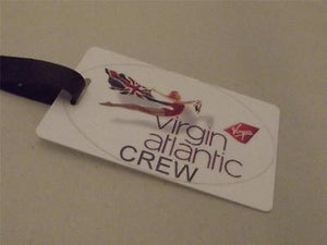 Novelty Luggage Crew Tags - Virgin Atlantic Crew, White Style 2 -  Inflightgoods