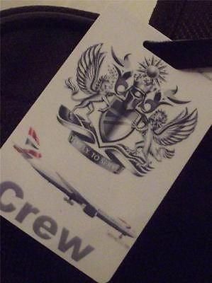 Novelty Luggage Crew Tags - British Airways Crew with Boeing (White) -  Inflightgoods
