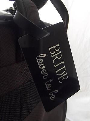 Novelty Luggage Crew Tags - Bride, Lover To Be -  Inflightgoods