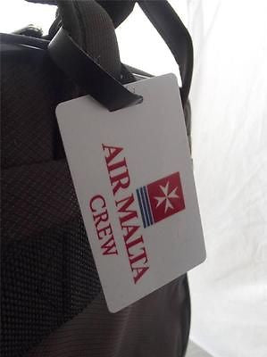 Novelty Luggage Crew Tags - Air Malta Crew, Plain, White (Style 2) -  Inflightgoods