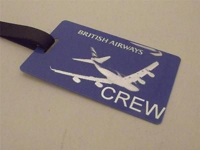 Novelty Luggage Crew Tags - British Airways Crew (Style 4) -  Inflightgoods