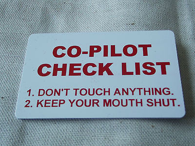 Novelty Luggage Crew Tags - PILOTS Various -  Inflightgoods   - 1