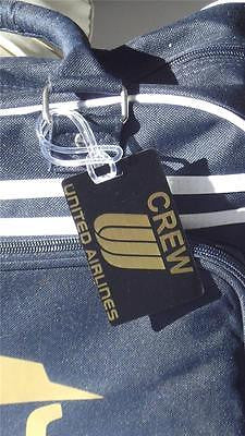 NOVALTY LUGGAGE TAG UNITED AIRLINES CREW GOLD -  Inflightgoods