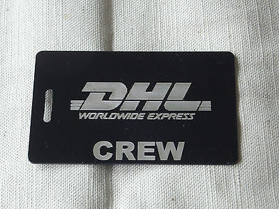 Novelty Luggage Crew Tags -D.H.L -  Inflightgoods   - 1