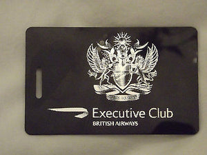 Novelty Luggage Crew Tags  British airways first class , crew  ect -  Inflightgoods   - 2