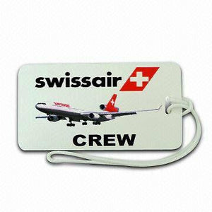 Swiss Airline  Type 2 Luggage tag   Crew  ,Airplane -  Inflightgoods