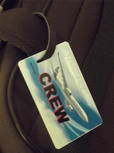 Novelty Luggage Crew Tags - Airbus Crew