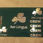 Novelty Luggage Crew Tags  AIR LINGUS  Various Colours -  Inflightgoods   - 6