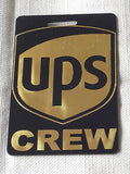 Novelty Luggage Crew Tags -UPS Crew -  Inflightgoods   - 3