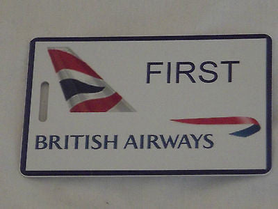 Novelty Luggage Crew Tags  British airways first class , crew  ect -  Inflightgoods   - 6