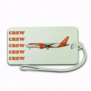 Novelty Easy Jet Crew  airline  Luggage tag  Crew .airports .airline crew TYPE3 -  Inflightgoods