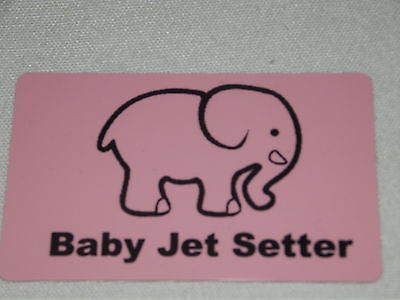 Novelty Luggage Baby jet Setter -  Inflightgoods   - 4