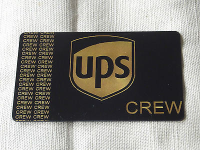 Novelty Luggage Crew Tags -UPS Crew -  Inflightgoods   - 4
