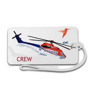 Novelty  Luggage  Chc helicopters Crew , Captain airline -  Inflightgoods