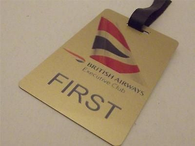 Novelty Luggage Crew Tags - British Airways Executive Club, Gold -  Inflightgoods