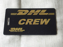 Novelty Luggage Crew Tags -D.H.L