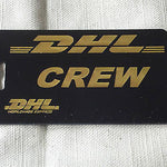 Novelty Luggage Crew Tags -D.H.L -  Inflightgoods   - 2