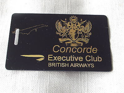 Novelty Luggage Crew Tags - CONCORDE EXECUTIVE CLUB -  Inflightgoods   - 4