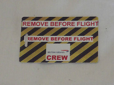 Novelty Luggage Crew Tags  British airways first class , crew  ect -  Inflightgoods   - 8