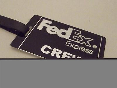 Novelty Luggage Crew Tags - FedEx Express Crew -  Inflightgoods