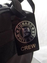 Novelty Luggage Crew Tags - Cunard, White Star