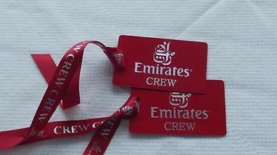 Novelty  Emirates Airline Crew Lugage Tag Airports,in pilots.Cabin Crew