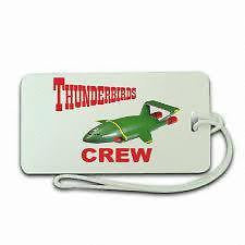 Novelty  Luggage  Thunder Bird 2  Crew 2 ,Airplane -  Inflightgoods