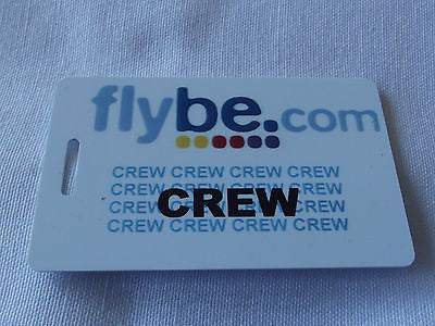 Novelty  FLYBE.com  luggage tags FIRST CLASS < CREW -  Inflightgoods   - 1