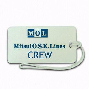 MOL shipping    Luggage tag  Crew .airports .airline crew first class -  Inflightgoods