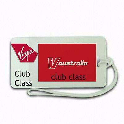 Virgin Airlines Club Class Luggage tag  Crew .airports .airline crew -  Inflightgoods