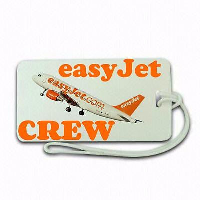 Novelty Easy Jet Crew  airline  Luggage tag  Crew .airports .airline crew TYPE 2 -  Inflightgoods