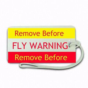 REMOVE BEFORE FLY Airlines + Airports,in pilots.Cabin Crew LUGGAGE  TAG -  Inflightgoods