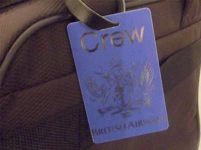 Novelty Luggage Crew Tags - British Airways (Crew) -  Inflightgoods