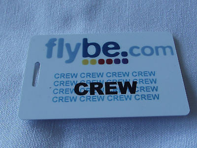 Novelty  FLYBE.com  luggage tags FIRST CLASS < CREW -  Inflightgoods   - 5