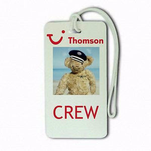 Novelty Thompson pilots  crew  Luggage Suitcase Carry-On -  Inflightgoods