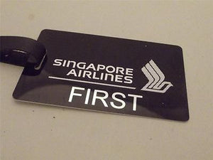 Novelty Luggage Crew Tags - Singapore Airlines SA1 -  Inflightgoods