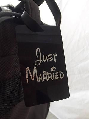 Novelty Luggage Crew Tags - Just Married -  Inflightgoods