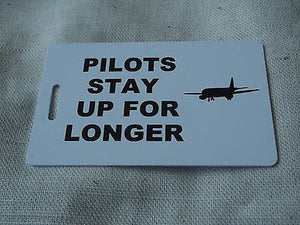 Novelty Luggage Crew Tags - PILOTS Various -  Inflightgoods   - 14