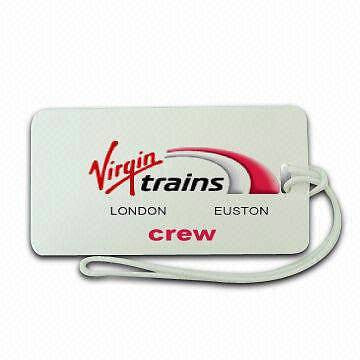 NOVALTY LUGGAGE TAG VIRGIN TRAINS  CREW  LONDON EUSTON -  Inflightgoods