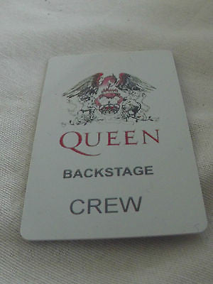 Novelty Luggage Crew Tags - Queen Crew & Back stage pass -  Inflightgoods   - 3