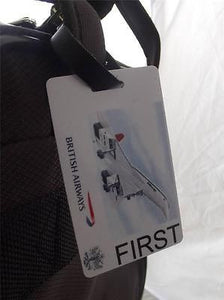 Novelty Luggage Crew Tags - White, Plain, British Airways First (Style 5) -  Inflightgoods