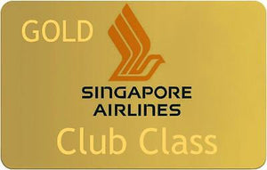 Novelty Gold Singapore Airline    Luggage tag  Crew .airports .airline crew 1 -  Inflightgoods