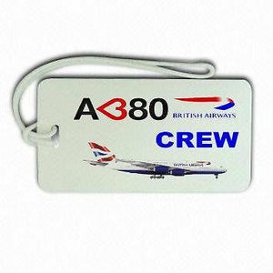 Novelty British Airways A380 Crew Luggage  Tag -  Inflightgoods